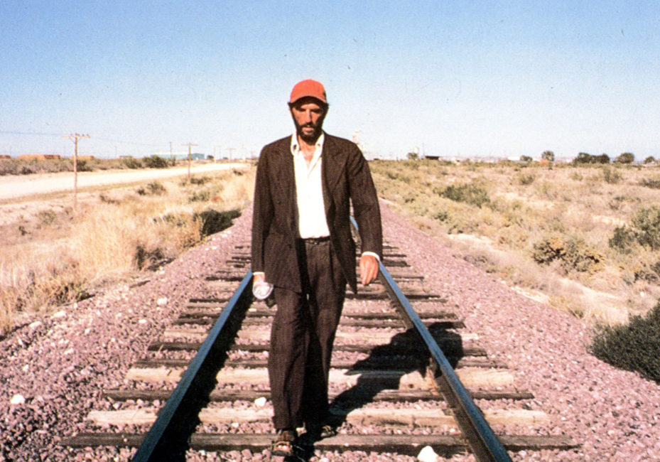 PARIS, TEXAS [Br/FRANCE/GERMANY/US 1984] HARRY DEAN STANTON  A ROAD MOVIES FILM